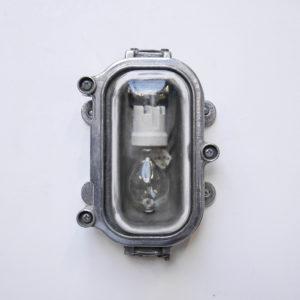wall light cccp, transparent glass anciellitude