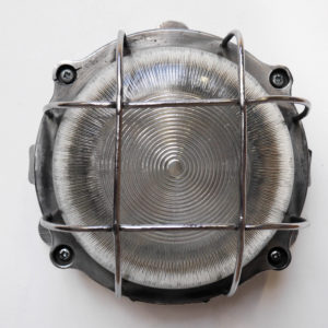 Round fenced wall light anciellitude