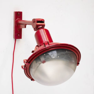 Red wall light anciellitude