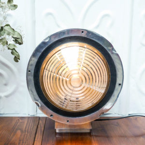 "Wall light glass "" Fresnel » type anciellitude"