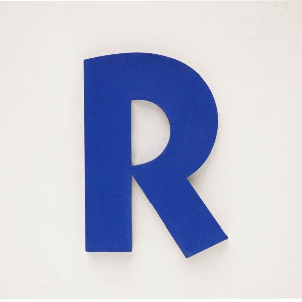 lettre R anciellitude