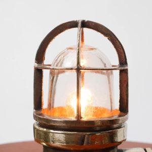 Small lamp in brass anciellitude