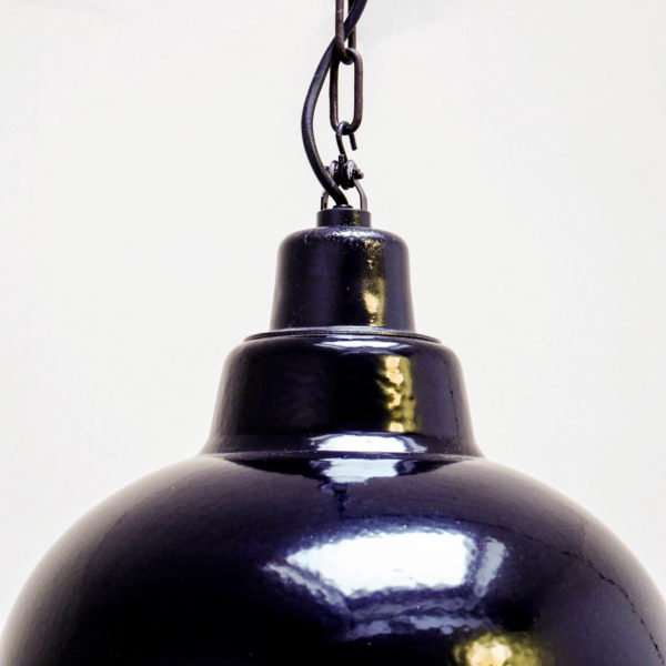 suspension cloche noire anciellitude