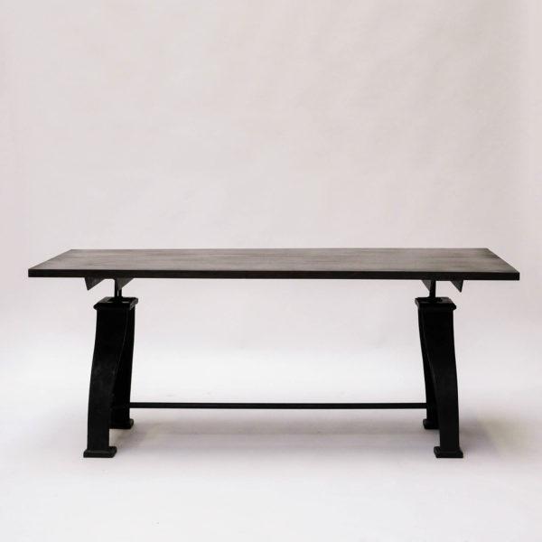 table pieds en fonte anciellitude