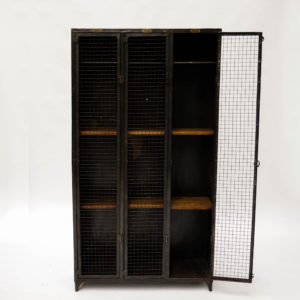 Locker 3 screened cabinet doors anciellitude