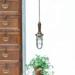 ancienne baladeuse en laiton et bois (modèle2) anciellitude