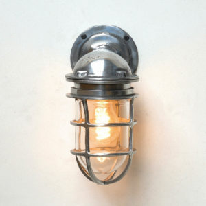 Wall light, Brushed aluminum anciellitude