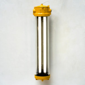 Anti-Deflagration Fluorescent Lamp Fully Restored. (wall light) anciellitude