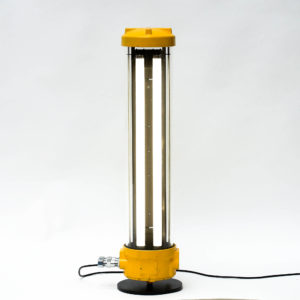 Anti-Deflagration Fluorescent Lamp Fully Restored. (floor lamp) anciellitude