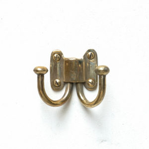Handbag hook in bronze anciellitude