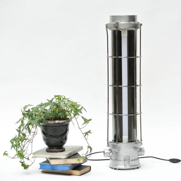 fluo en fonte d'aluminium grillagé anciellitude