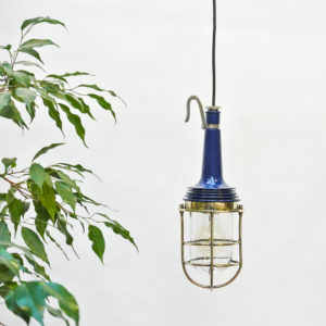 Blue Portable Lamp anciellitude