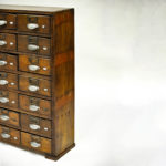 Old Craft Furniture with 42 Drawers anciellitude