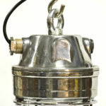 Italian Ceiling Lamp from Chemical Industry anciellitude