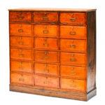 Ancien meuble de notaire à clapets anciellitude