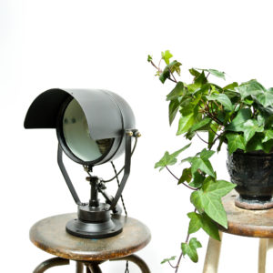 Vintage Black Spotlight anciellitude
