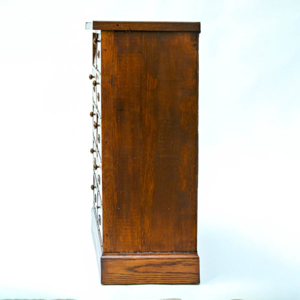 Small Vintage Notary Cabinet with Flaps anciellitude