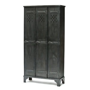 Locker « Strafor » 3 Corrugated Doors Anciellitude